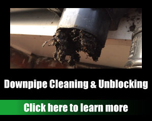 Downpipe Cleaning & Unblocking